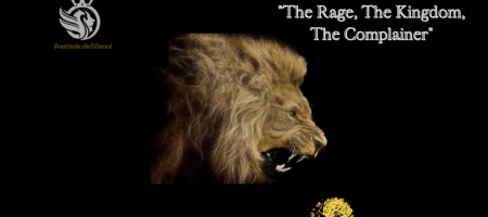 "Gratitude:UnFiltered ""The Rage, The Kingdom, The Complainer"" w/ Joshua T Berglan"