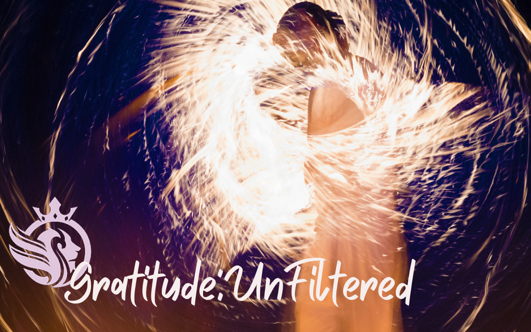 """Gratitude:UnFiltered """"Getting It Off My Chest"""""""